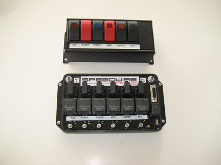 six relay controller speedwire systems