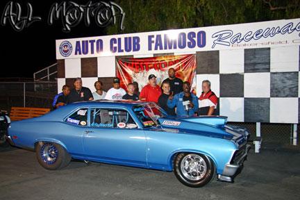 Winner: WCHRA Race in Bakersfield!