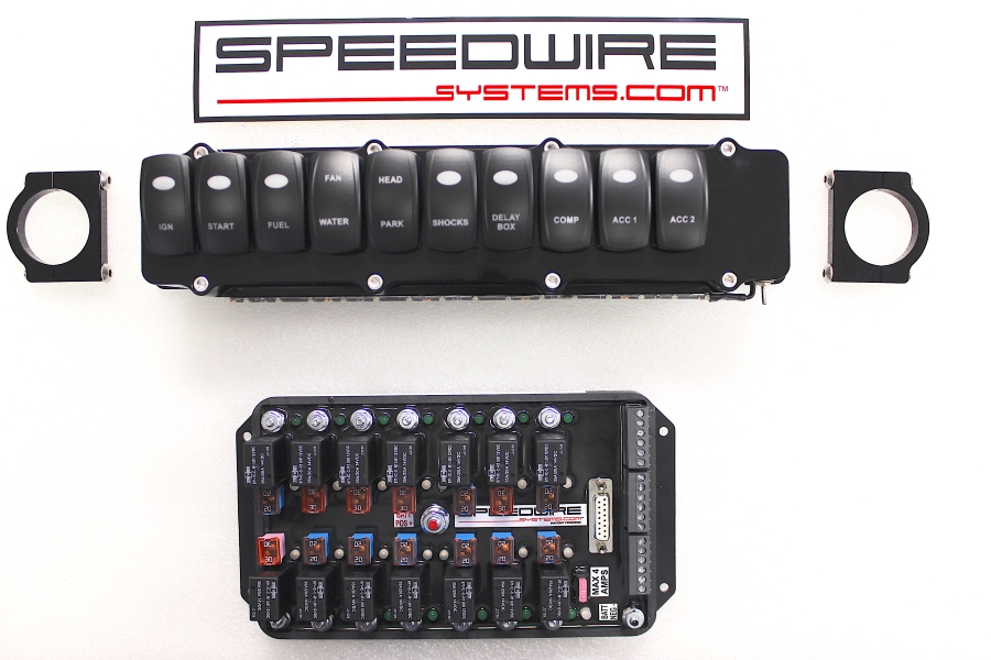 top sportsman 10 switch panel with 14 relay controller