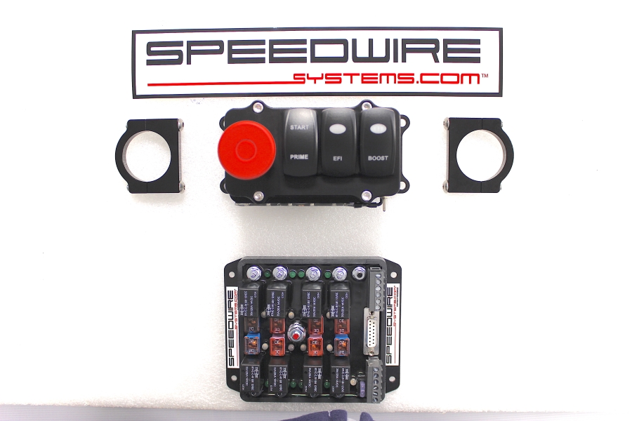 3 switch panel with mag button, blower or turbo system