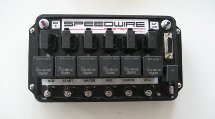 Speedwire's Six Relay Board and Controller