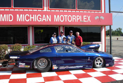 Mid Michigan Raceway Divisional Race Winner!