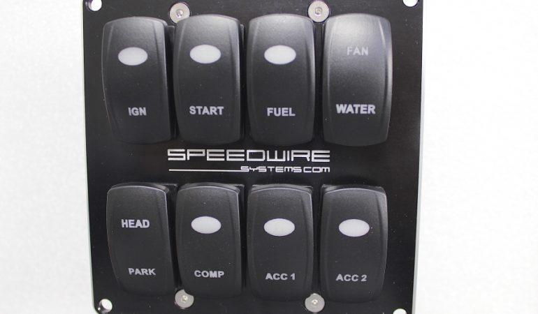 dash mount switch panel
