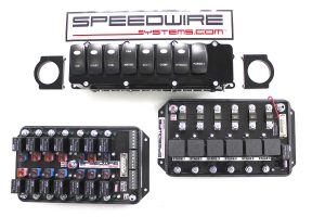 8 switch panel, PRO series 6 stage nitrous EFI
