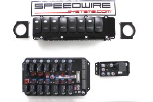 8 switch panel, nitrous, 1 stage with 14 relay controller