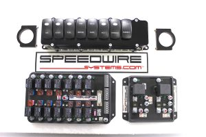8 switch panel, nitrous 2 stages EFI or carb with progressive, 14 relay controller